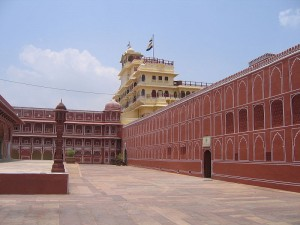 Royal City Palace in Jaipur