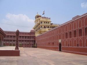 Royal City Palace in Jaipur
